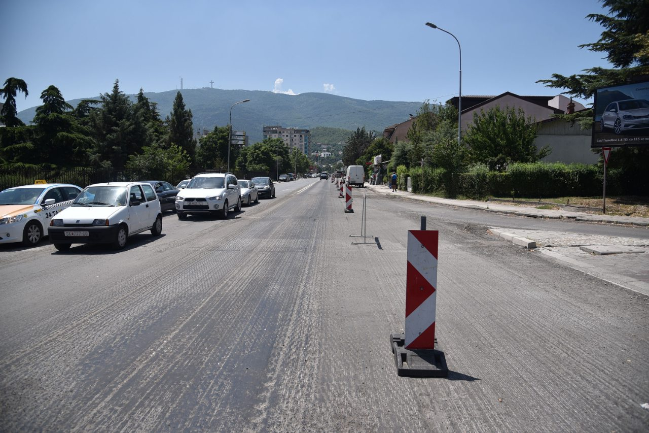 THE RECONSTRUCTION OF THE MOSCOW STREET STARTED